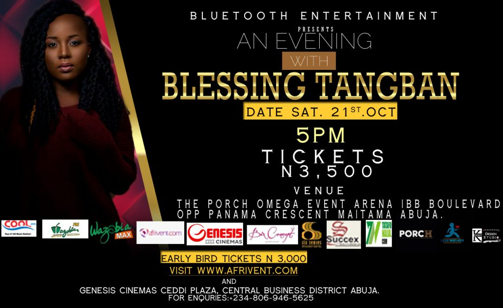 An Evening with Blessing Tangaban